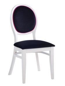 Stylowe krzesło sztaplowane AR-0951N typu fameg