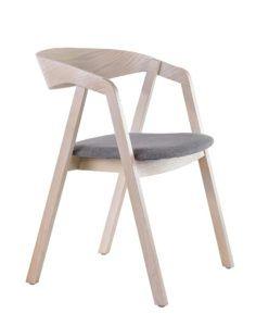Fotel nowoczesny z siedziskiem tapicerowanym LOX-BS