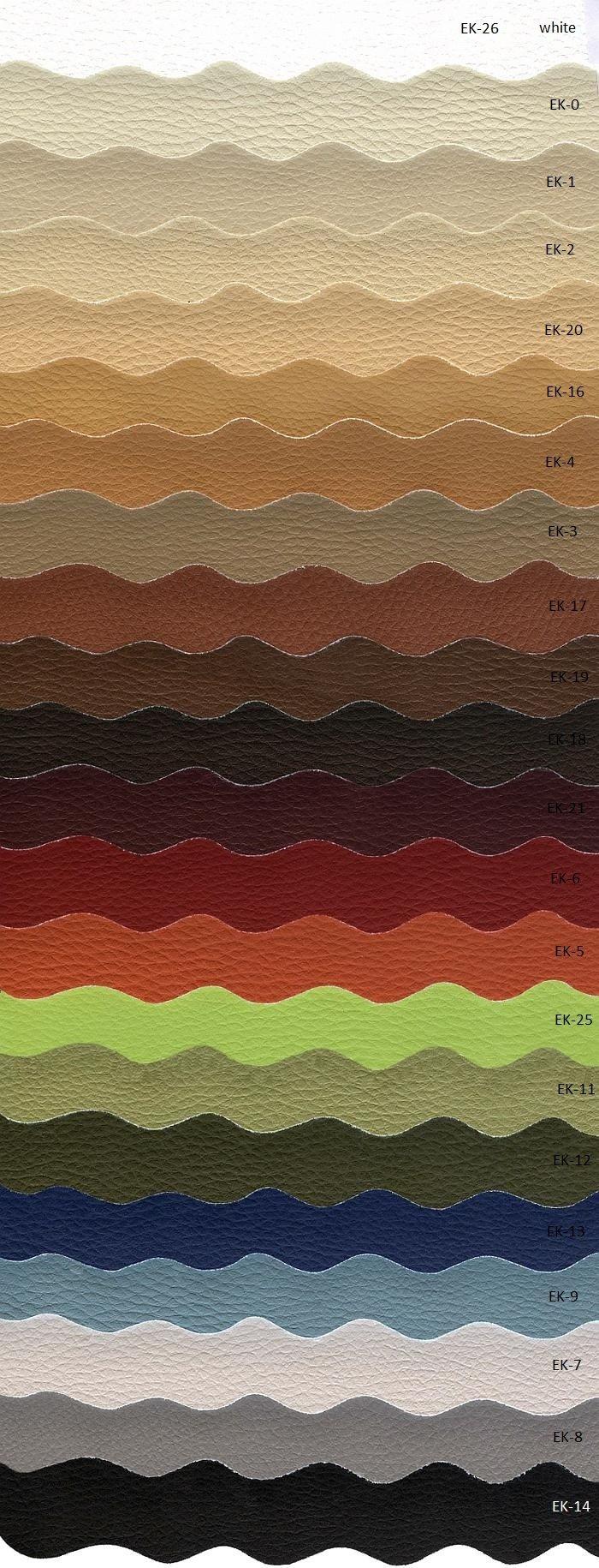 Tkanina tapicerska meblowa obiciowa ekoskóra z kolekcji Meble Radomsko - wytrzymałość 100 000 cykli Martindale