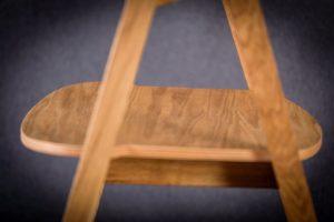 Siedzisko fotela olejowanego dębowego LOX BS