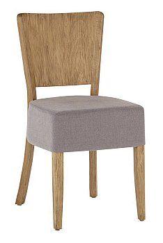 Krzesło drewniane nowoczesne AR-0031-2 Olejowany Antic na buku, krzesła typu TULIP fameg