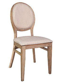 Stylowe krzesło drewniane AR-0951N olejowanie antic