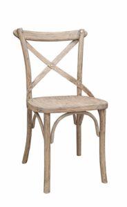 Krzesło drewniane gięte AG-134 Olejowany Antic typu Crossback krzesło z reklam TV