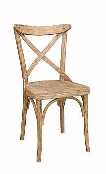 Krzesło drewniane gięte AG-150-1 Olejowany Antic typu Crossback
