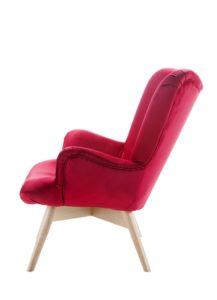 Nowoczesny fotel tapicerowany DALIA