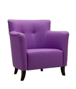 Duży fotel tapicerowany FIORA