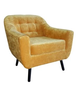 Designerski fotel tapicerowany RICHI BW