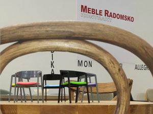 Modele 3D krzeseł produkcji Meble Radomsko