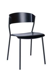 Designerskie krzesło metalowe AS-CAVA-STEEL z kolekcji Mediolan 2020