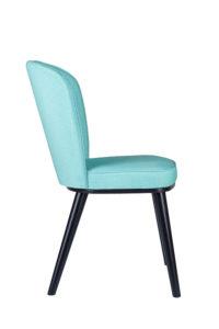 Nowoczesne krzesło tapicerowane FLIP AS