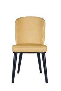 Nowoczesne krzesło tapicerowane FLIP AS projekt Studio Sagitar