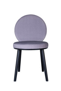 Super nowoczesne krzesło tapicerowane OTTO AS projekt R&G Fauciglietti