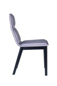 Designerskie nowoczesne Krzesło tapicerowane AZURRA-AS z kolekcji Mediolan 2020 od Meble Radomsko projektu hiszpańskiego Studia Sagitar