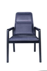 Tapicerowany fotel nowoczesny AZURRA BS kolekcja Mediolan 2020 design