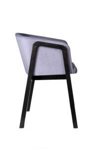 Fotel nowoczesny CAVA BS FULL bok designer Yago Sarri