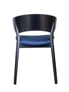 Designerskie krzesło DOMA-AS tapicerowane Nowość z kolekcji Mediolan 2020