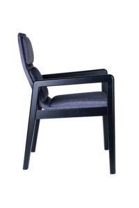 Tapicerowany fotel nowoczesny AZURRA BS kolekcja Mediolan 2020 Meble Radomsko