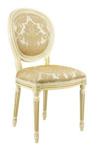 Stylowe krzesło A-1001-V krzesło Luigi XVI