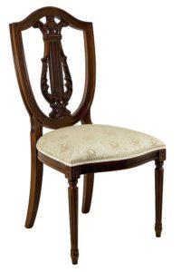 Krzesło włoskie stylowe A-1085-V typu Violino