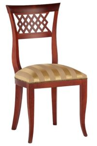 Stylowe krzesło AK-9864 typu Biedermeier