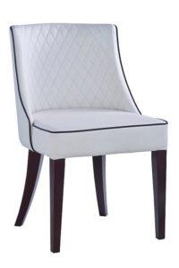 Krzesło stylowe tapicerowane ALUNA AS