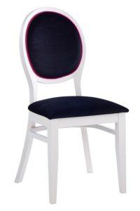 Stylowe krzesło białe AR-0951N typu Medalion