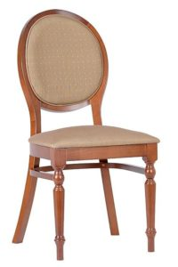 Krzesło stylowe AR-9416N typu medalion fameg