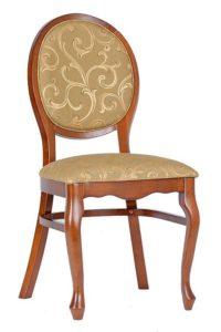 Krzesło stylowe AR-9702N-1 typu patelnia fameg