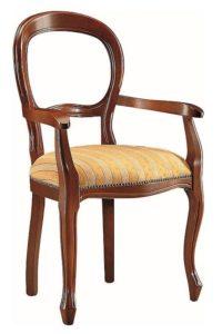 Fotel stylizowany B-1023-V najtańszy włoski fotel stylowy