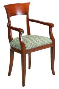 Fotel stylizowany BK-9865 typu Biedermeier