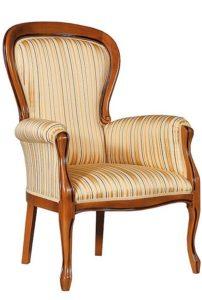 Fotel włoski tapicerowany BW-1002-V