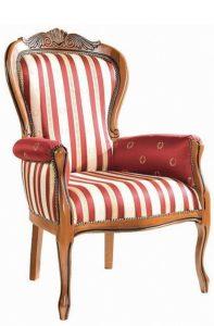Fotel włoski tapicerowany BW-1003-V