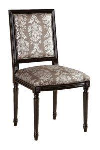 Stylowe krzesło czarne A-1028-V