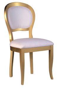Stylowe krzesło złote typ A-1069-V2