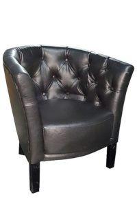 Fotel stylizowany WILSON BW