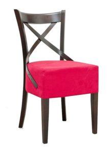 Krzesło drewniane AL-0145-1 typu crossback lub A-9907/2 Bistro 1 fameg lub A-5245 paged