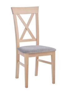 Krzesło drewniane AL-0240 typu Crossback
