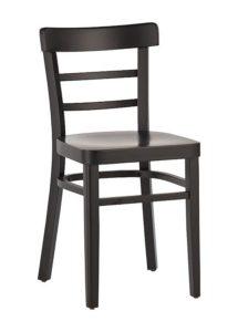 Krzesło drewniane AP-510 B najtańsze krzesło gięte do baru i restauracji