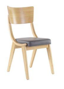 Kultowe krzesło drewniane BENT-A typu Skoczek