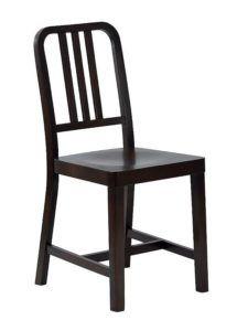 Krzesło drewniane ALCATRAZ AN kultowe krzesło z zakładu karnego z wyspy Alatraz