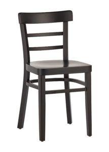Krzesło drewniane 5014-B najtańsze krzesło gięte do baru i restauracji