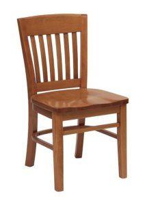 Krzesło drewniane AP-6500 w stylu country