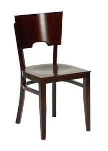 Krzesło drewniane AR-9456 do baru