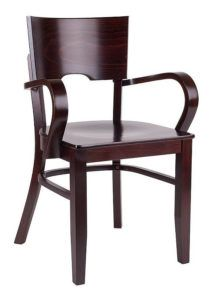Fotel drewniany BR-9456 do baru