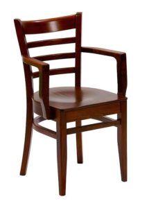 Fotel drewniany BR-9907 identyczne jak Bistro2 fameg lub B-5200 paged