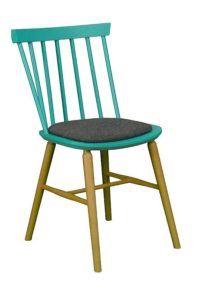 Krzesło drewniane EUROS AN typu Antilla A-9850 paged lub A-1102/1 Wand fameg