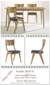 Krzesło BENT w promocyjnej cenie , kultowe krzesło z PRL typu Skoczek