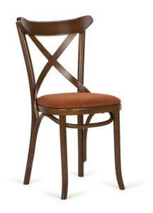 Krzesło gięte AG-150P-tap z siedziskiem tapicerowanym