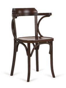 Fotel drewniany gięty BG-24-1 do restauracji