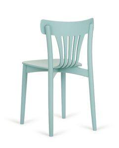 Designerskie krzesło do kuchni AG-312 z tyłu